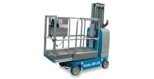 genie aerial lift platform photo