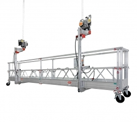 altrex suspended platform with walk-through stirrups