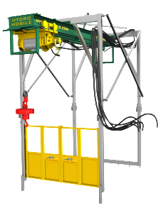 m series hydro mobile unit hoist