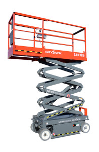 skyjack 3219 electric scissor lift photo