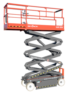 skyjack 3226 electric scissor lift photo