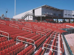 permanent grandstands photo