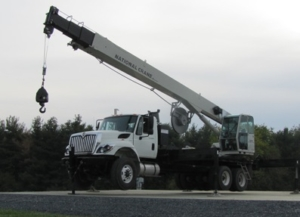 1300A-boom-raised boom truck