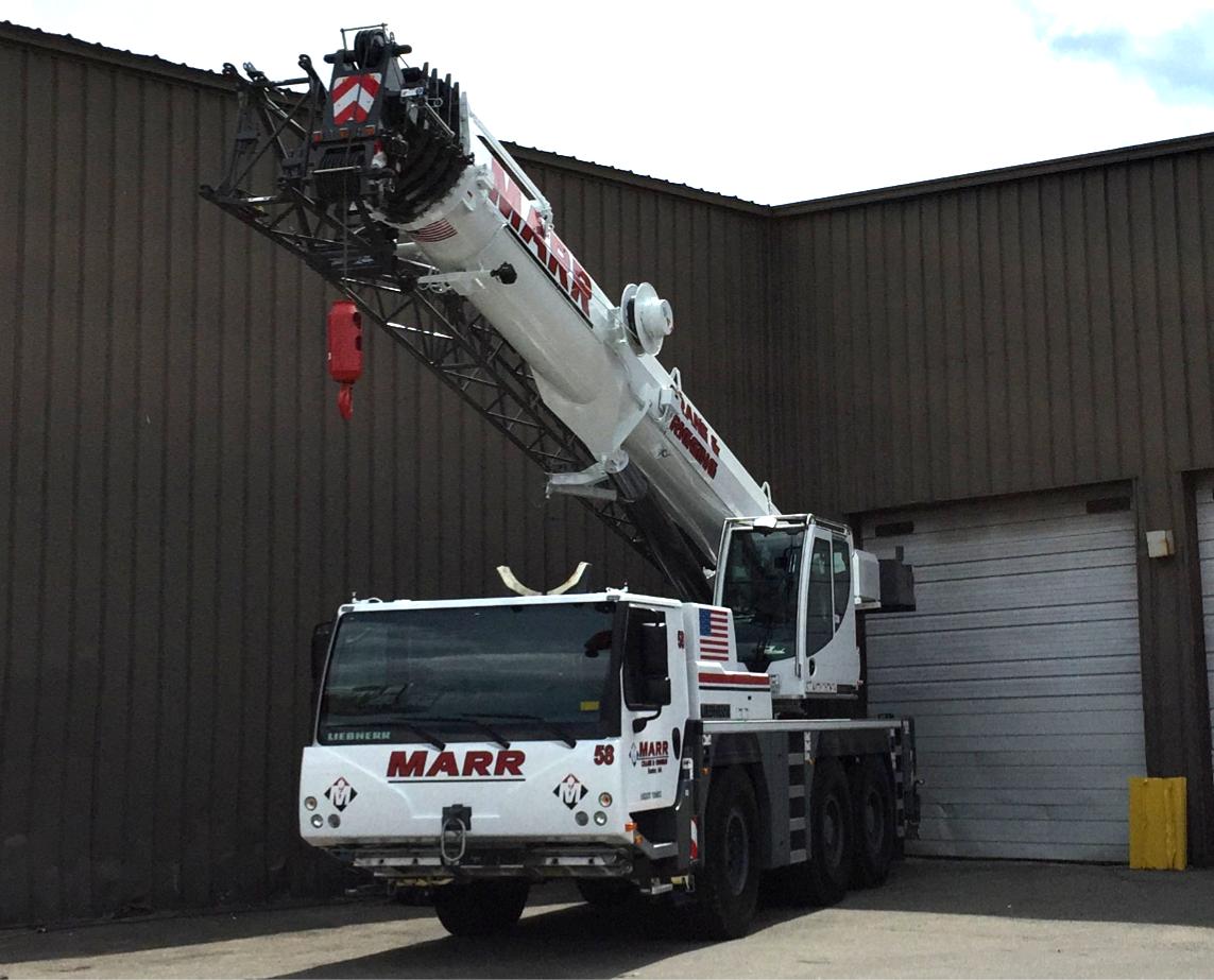 70 ton Liebherr crane