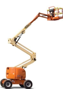 JLG 450 AJ articulating boom lift photo
