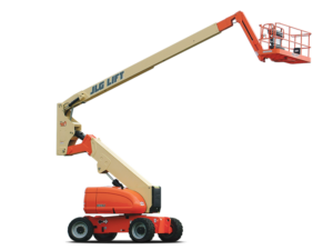 JLG 800AJ articulating boom lift photo