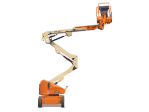 JLG E400 AJP articulating boom lift photo