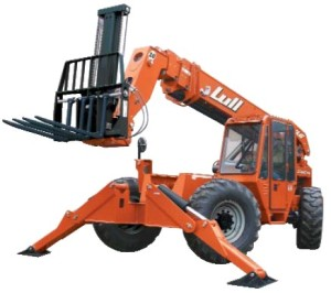 lull telehandler photo