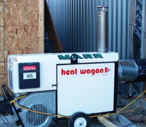heat wagon indirect fired gas heater photo