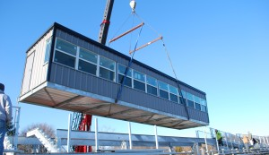 Dean College Press Box Installation WEB 030