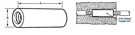 closed coupler drawing