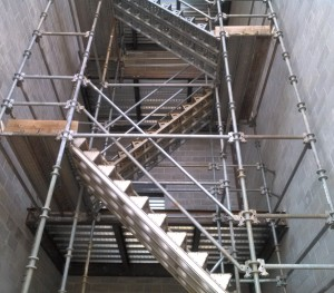 stair tower systems scaffold