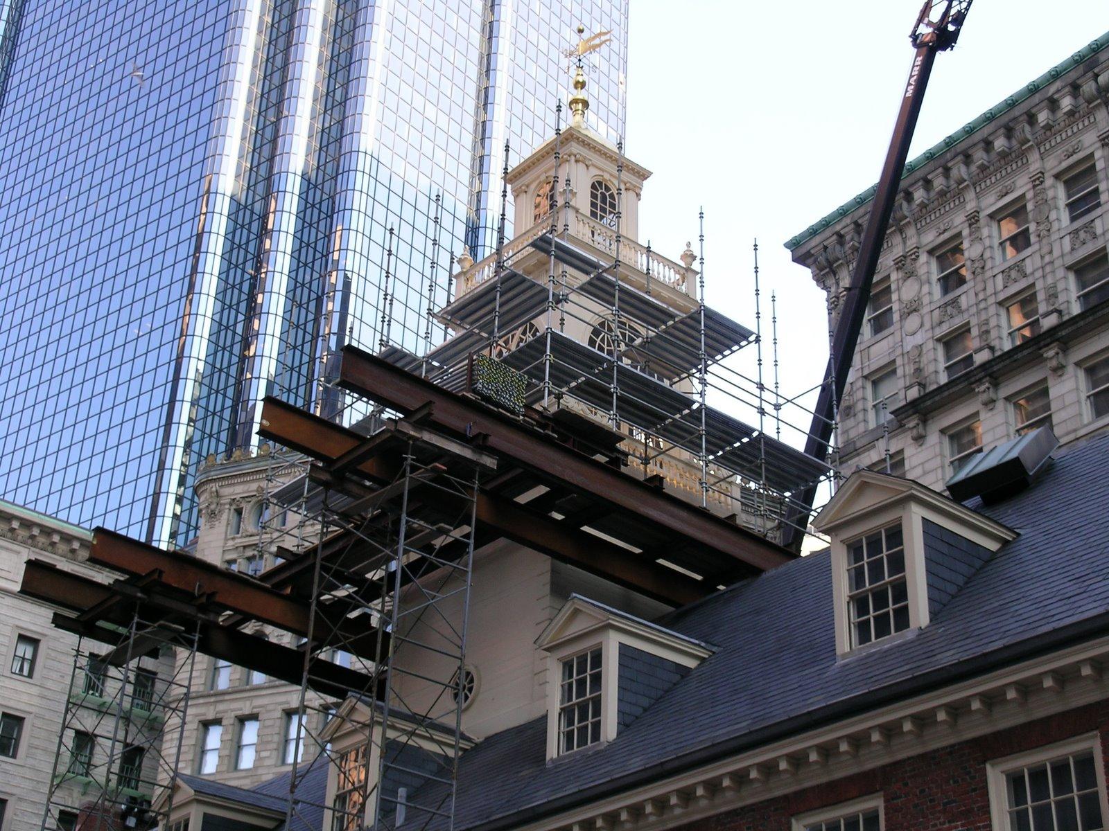 OLD STATE HOUSE CUPOLA