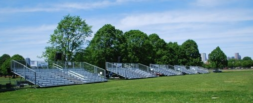marine week bleachers