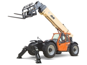 jlg telehandler machine photo