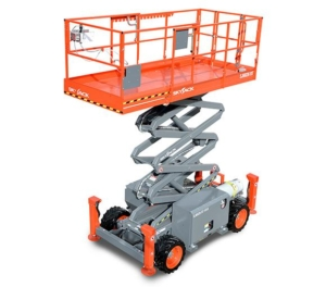 skyjack rough terrain lift photo